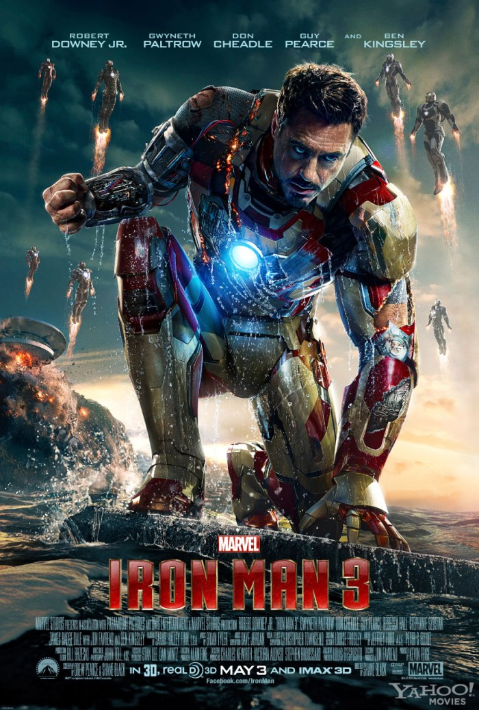 New Images of Iron-Man 3 Poster