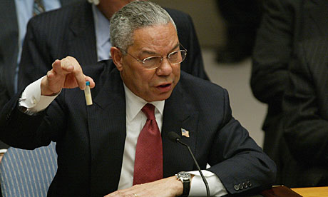 Geek: Politics -- Poor Colin Powell