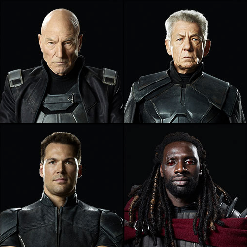 Geek: First Look at DOFP's Characters