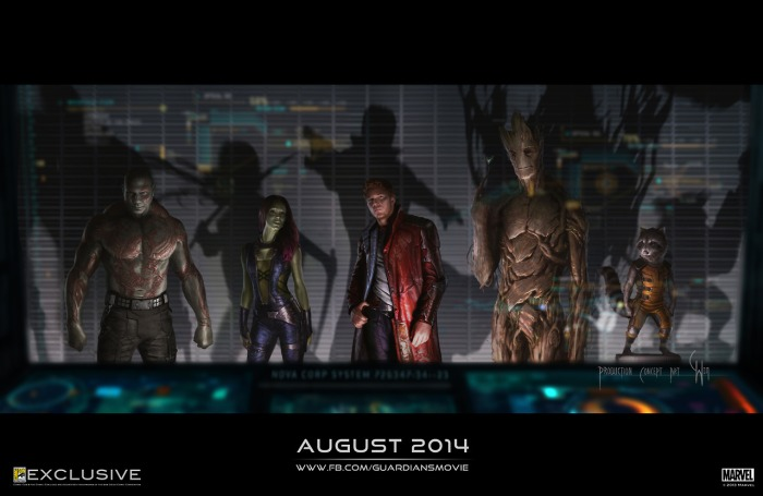 Geek: Guardians of the Galaxy is coming into focus!
