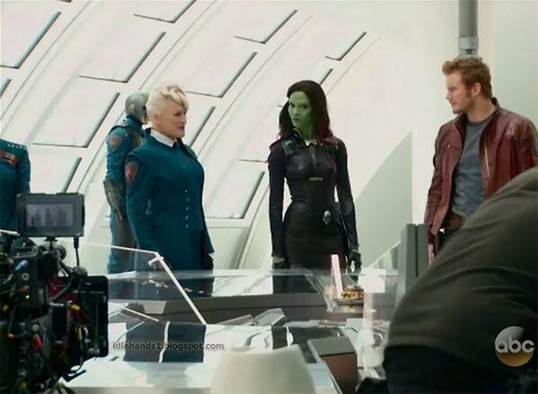GEEK: ICYMI -- FIRST LOOK AT GLENN CLOSE IN 'GUARDIANS OF THE GALAXY'